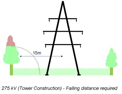 Tree Cutting Clearance - 275 kV (Tower Construction)
